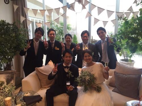 中條結婚式2