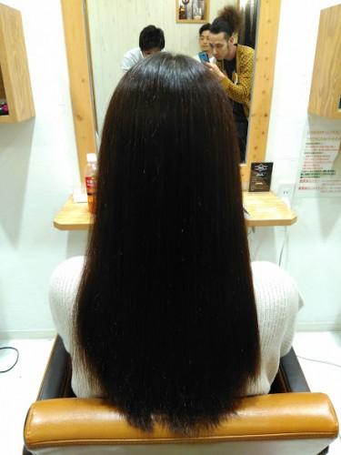 髪質改善矯正 アフター